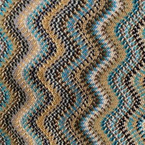 MISSONI Multicolor Lurex Wool Scarf